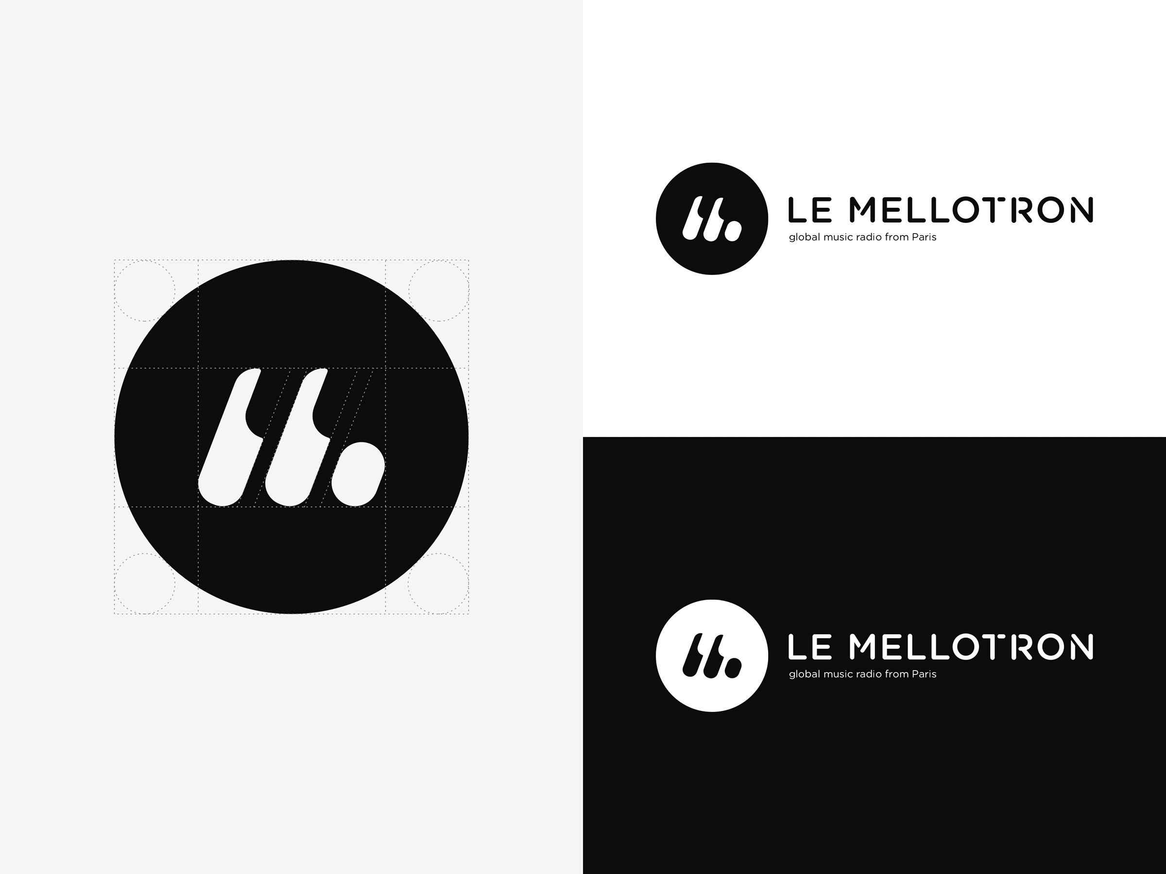 MELLOTRON - COMPOSITION LOGO