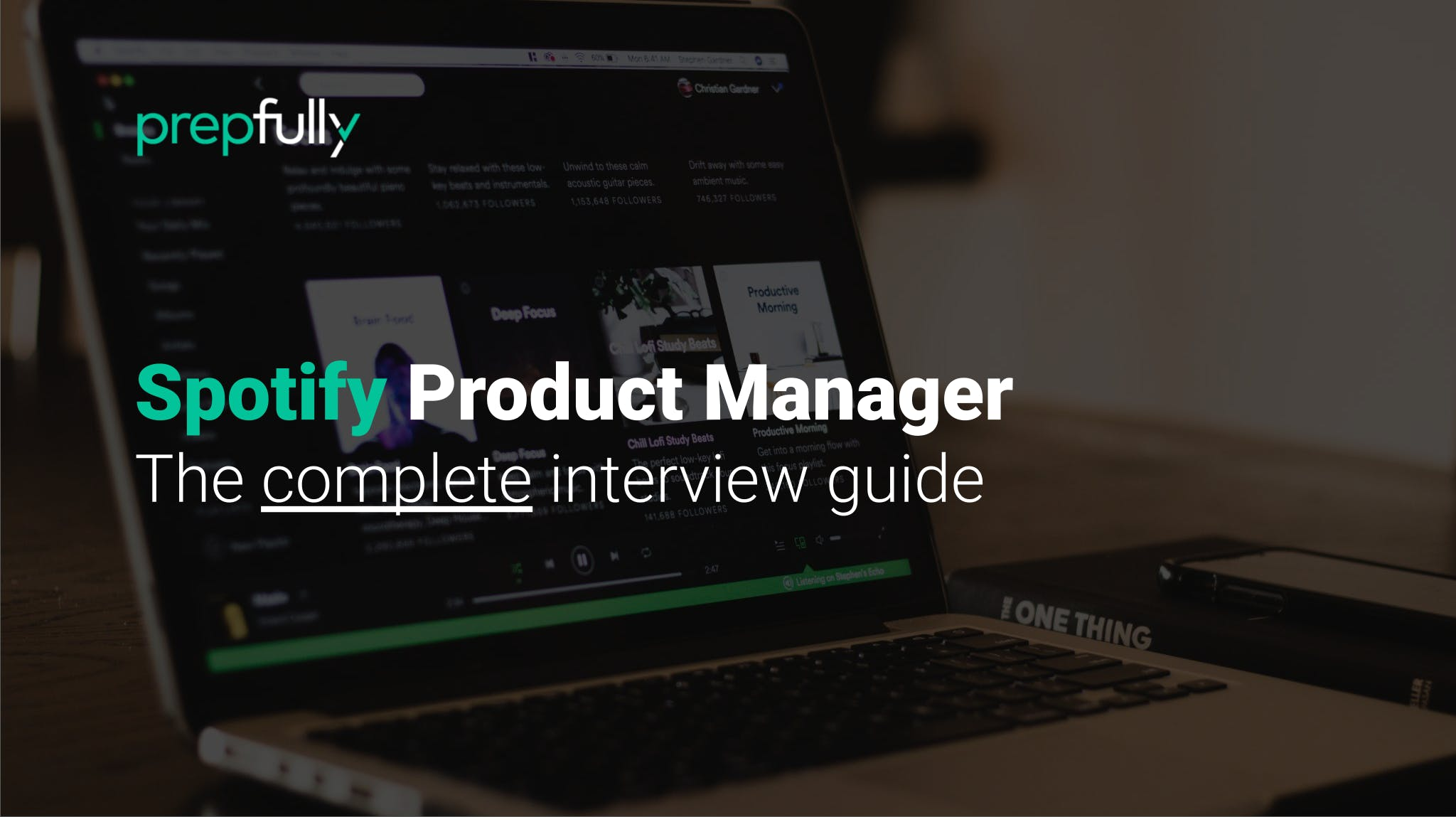 Interview guide for Spotify Product Manager