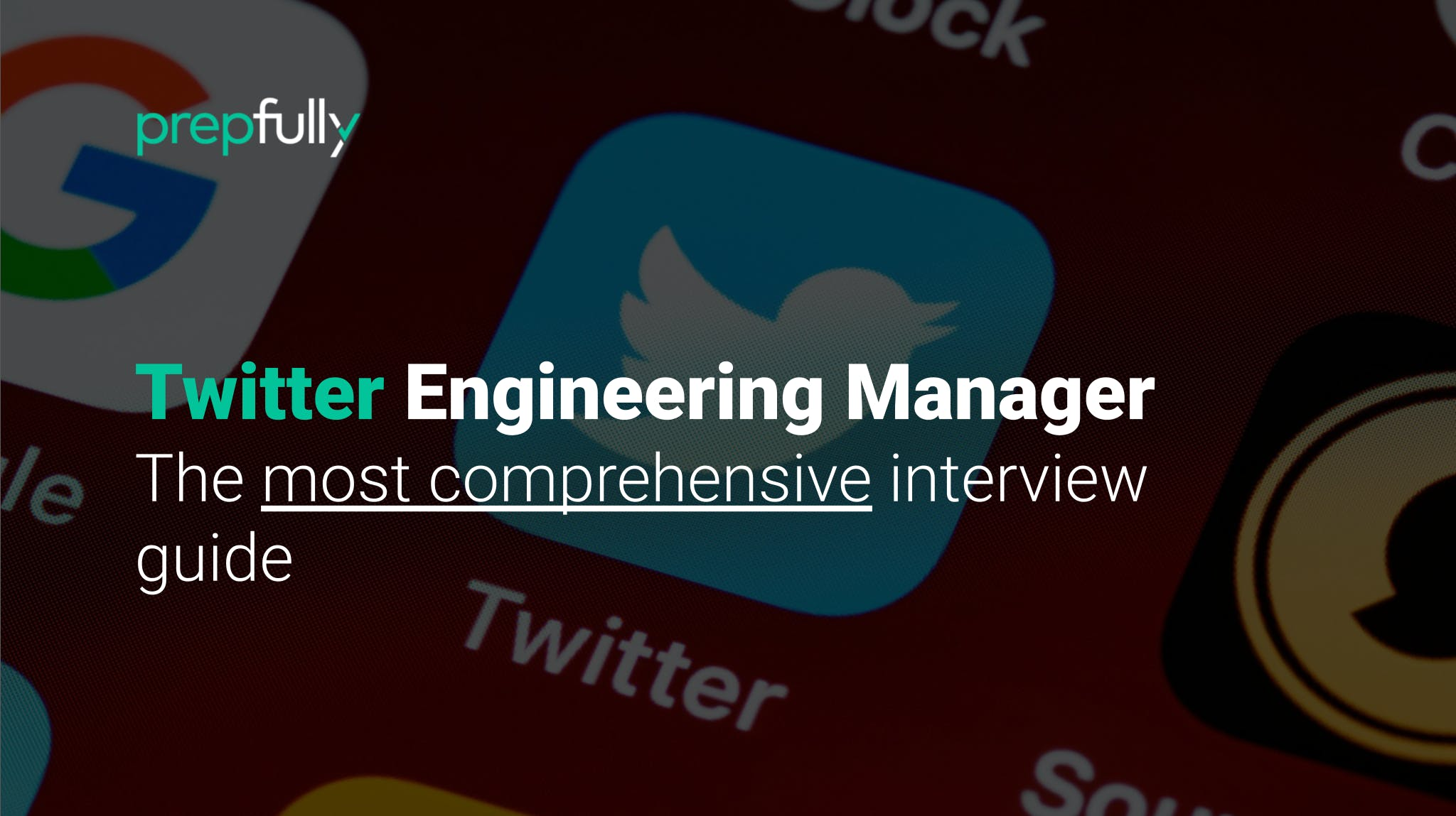 Interview guide for Twitter Engineeering Manager