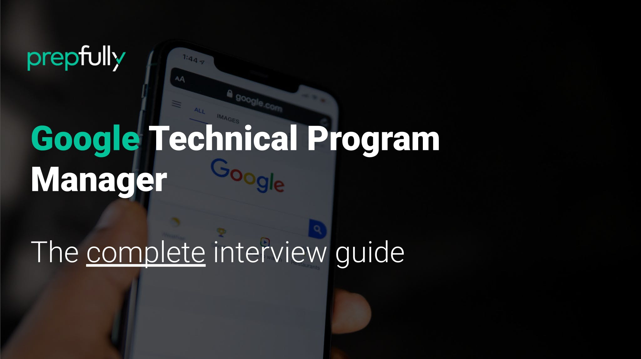 Interview guide for Google Technical Program Manager