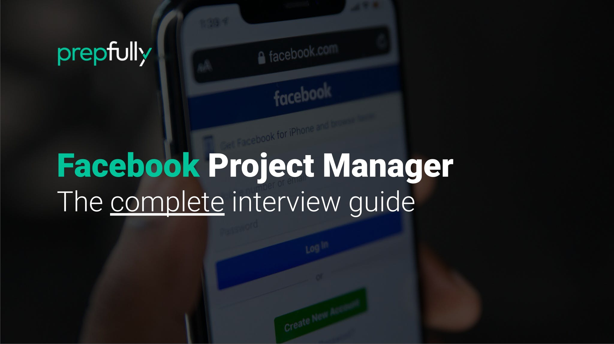 Interview guide for Facebook Project Manager