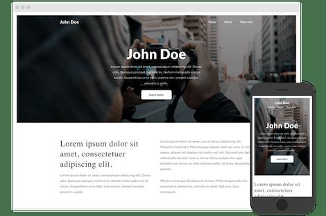 Nuxt.js website project