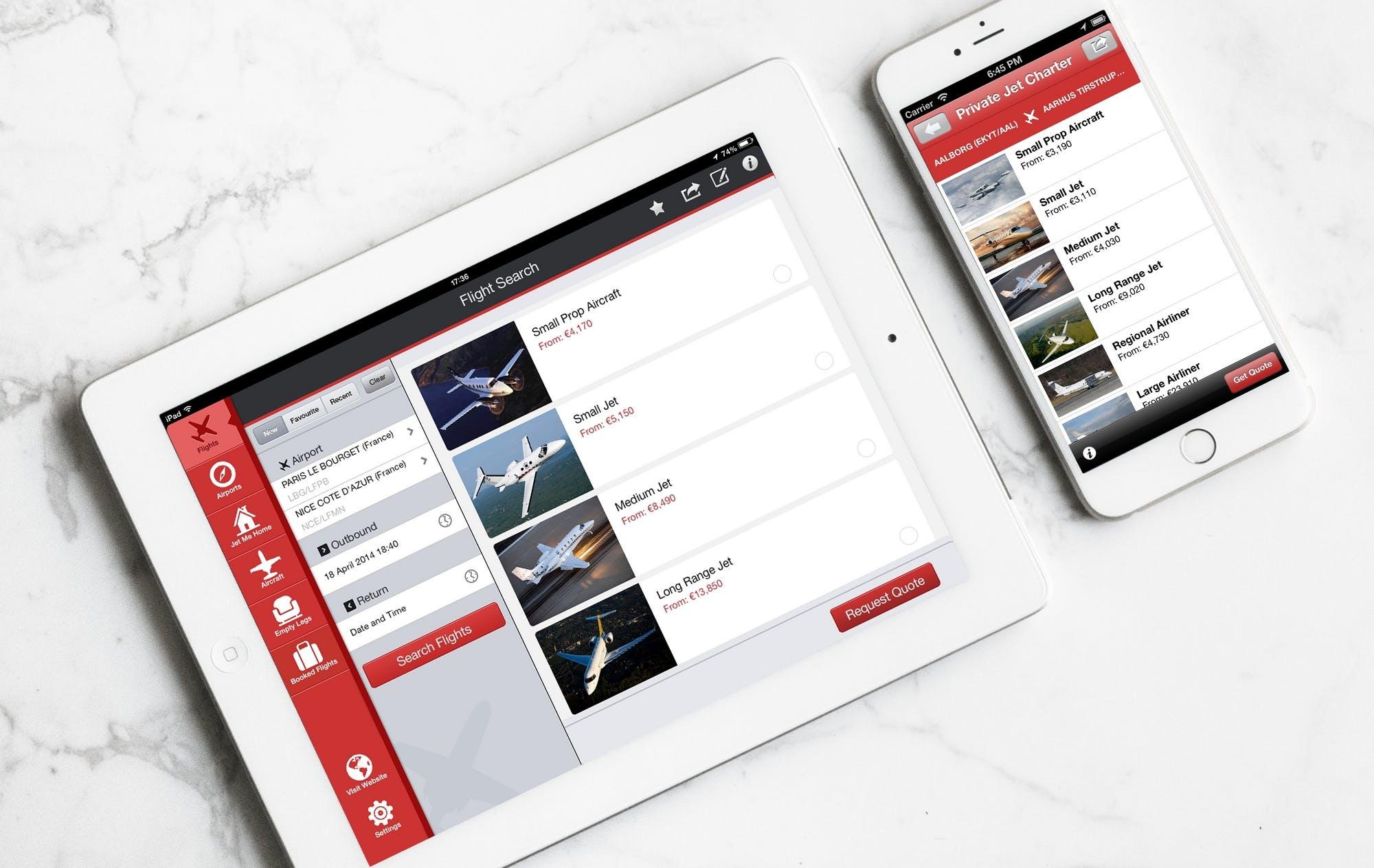 PrivateFly app