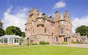 Cringletie House Castle by Helicopter