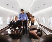 Hawker 4000 cabin