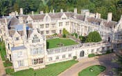 Rushton Hall Hotel by Helicopter