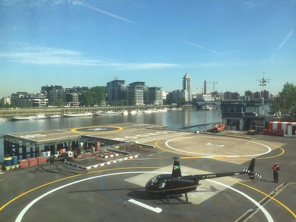 London heliports
