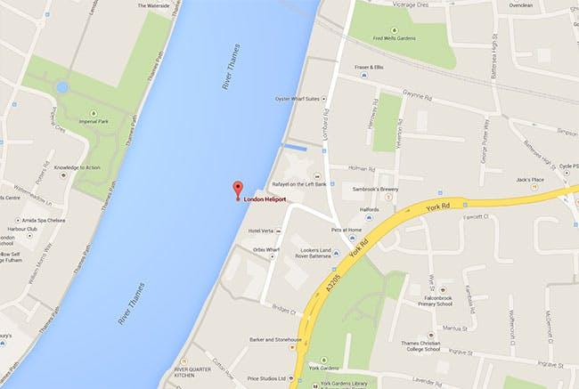 London Battersea Heliport