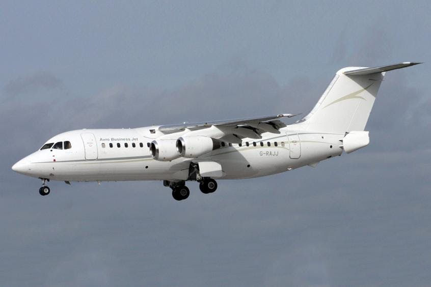 Avro-Business-Jet-PrivateFly-AA9569
