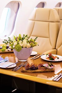 private jet catering