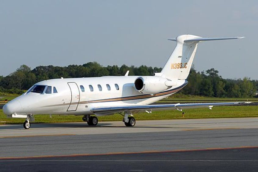 Cessna-C650-Citation-VII-PrivateFly-AA1204