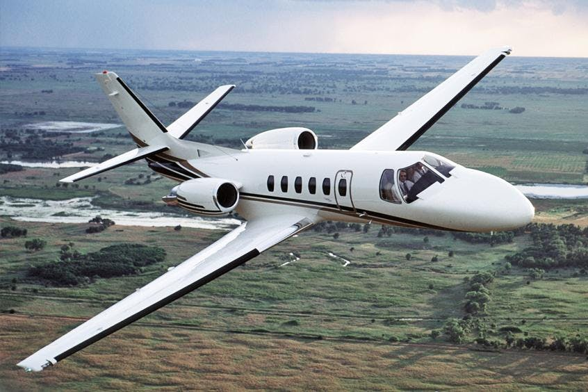 Cessna-C550-Citation-II-IISP-S-PrivateFly-AB1077