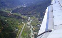 private flights to Paro Airport