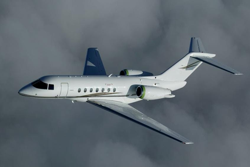 Hawker-4000-PrivateFly-AA9764