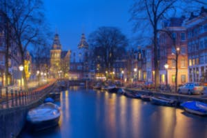 Amsterdam by private jet from London