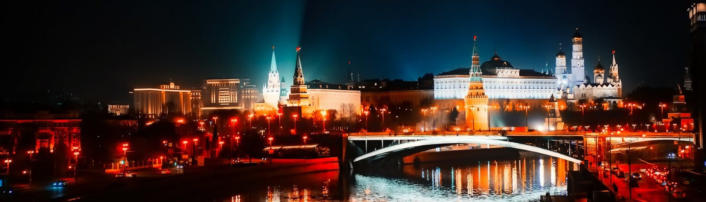 London to Moscow by private jet charter