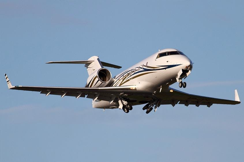 Challenger-601-PrivateFly-AA9705