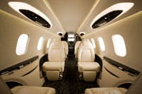 learjet private jet