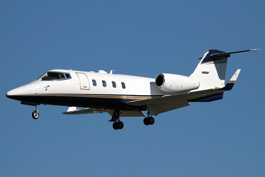 Learjet-55-PrivateFly-AB1193