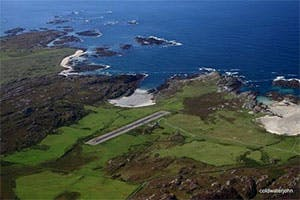 Colonsay private flights