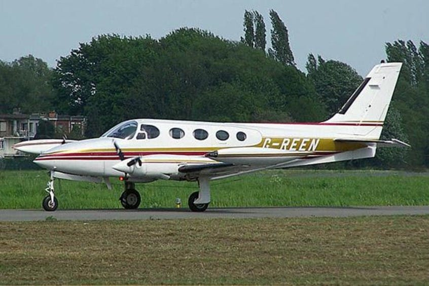 Cessna-C340A-PrivateFly-AA1031