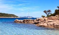 Private jet flight to Corsica