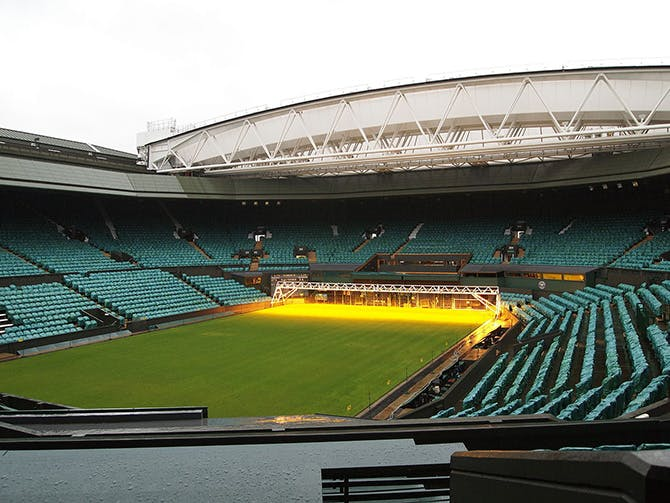 private jet charter and helicopter flights to Wimbledon