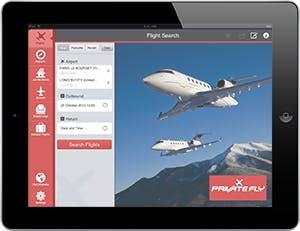PrivateFly iPad App