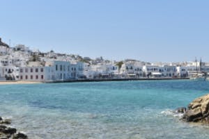 Mykonos by private jet