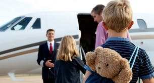 Flying with Babies & Children by Private Jet