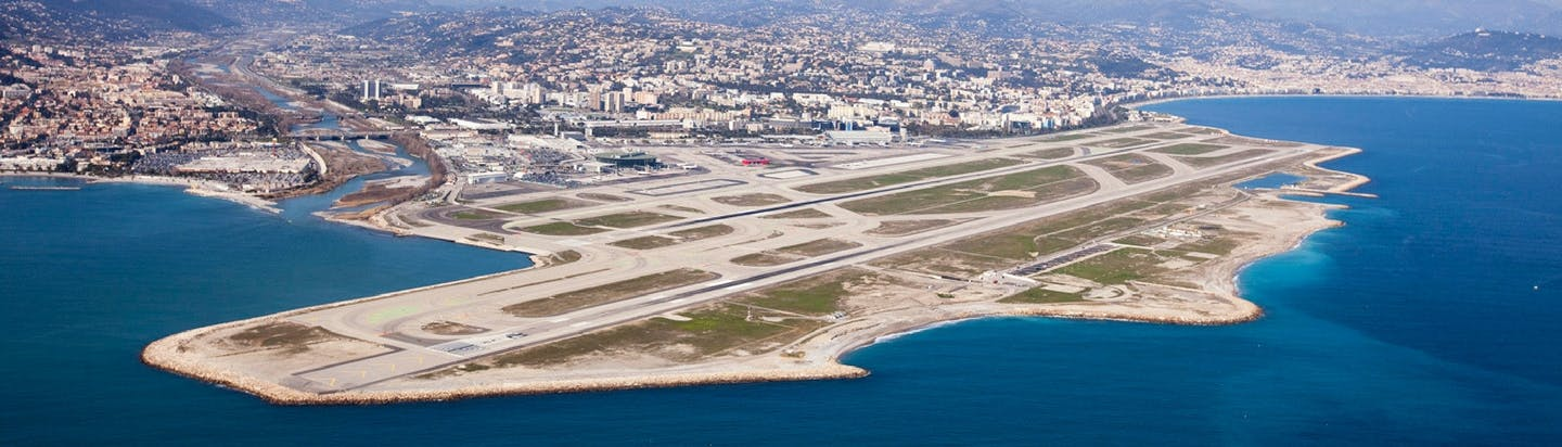 Nice cote d'azur by private jet charter