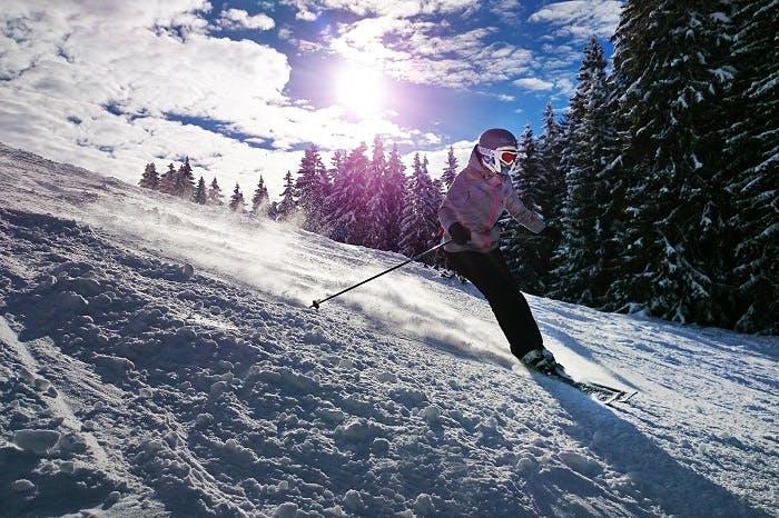 Skiing in Geneva