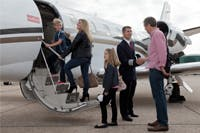 Family private flights