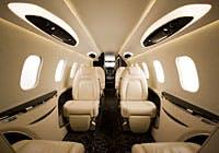 Executive jet charter service for PAs