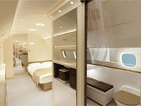 Lineage private jet