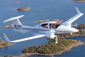 Diamond Twin Star Private jet