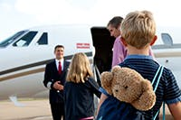 Family private jet charter
