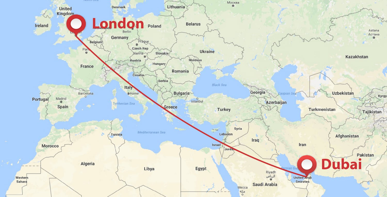 London - Dubai