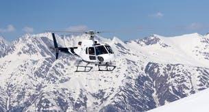 ski transferts en hélicoptère