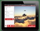iPad private jet app