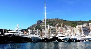 Monaco Yacht Show by private jet and helicopter