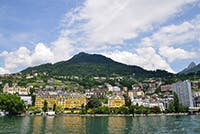 Montreux Jazz Festival by private jet