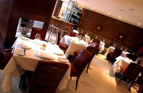 Jersey lunch dining room