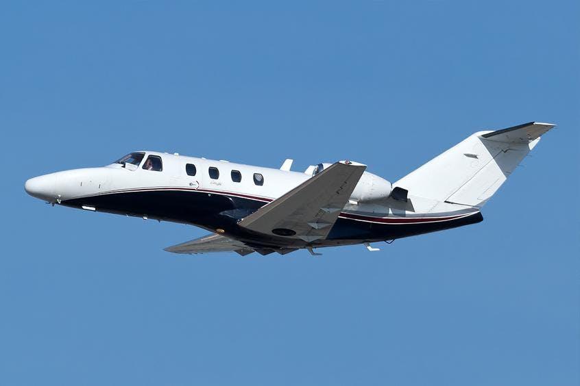 Cessna-C525-Citation-PrivateFly-AA9964