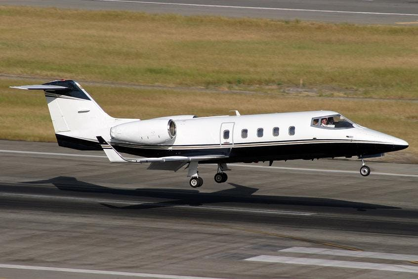 Learjet-55-PrivateFly-AB1189
