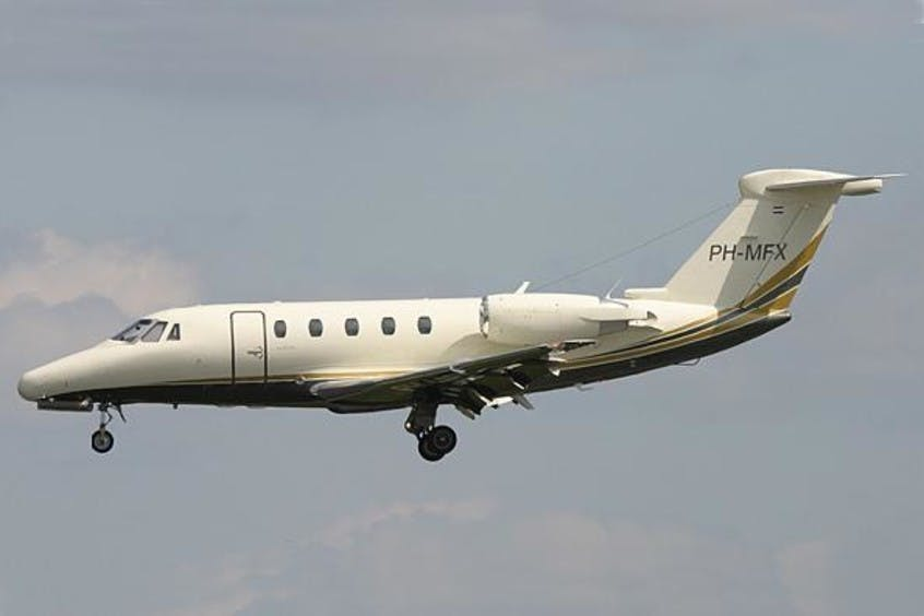 Cessna-C650-Citation-VI-PrivateFly-AA1264