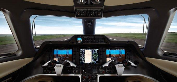 Phenom 300 flight range