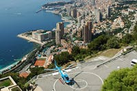 Monaco Helicopter transfer