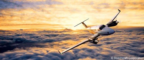 Beechcraft King Air 250 private flight