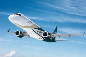 Lineage business jet
